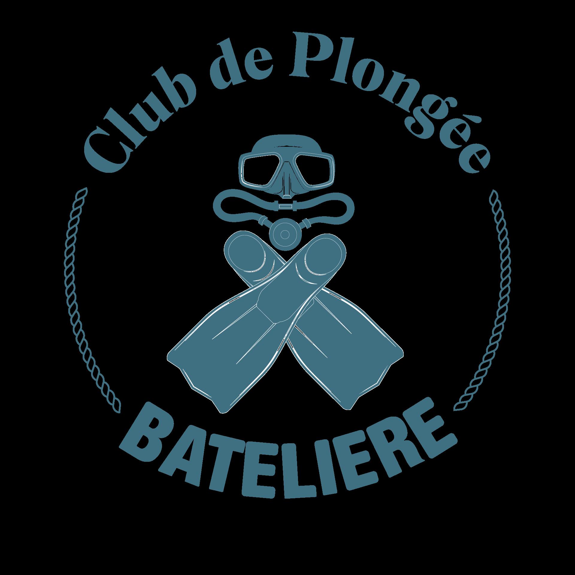 Logo club de plongée bateliere